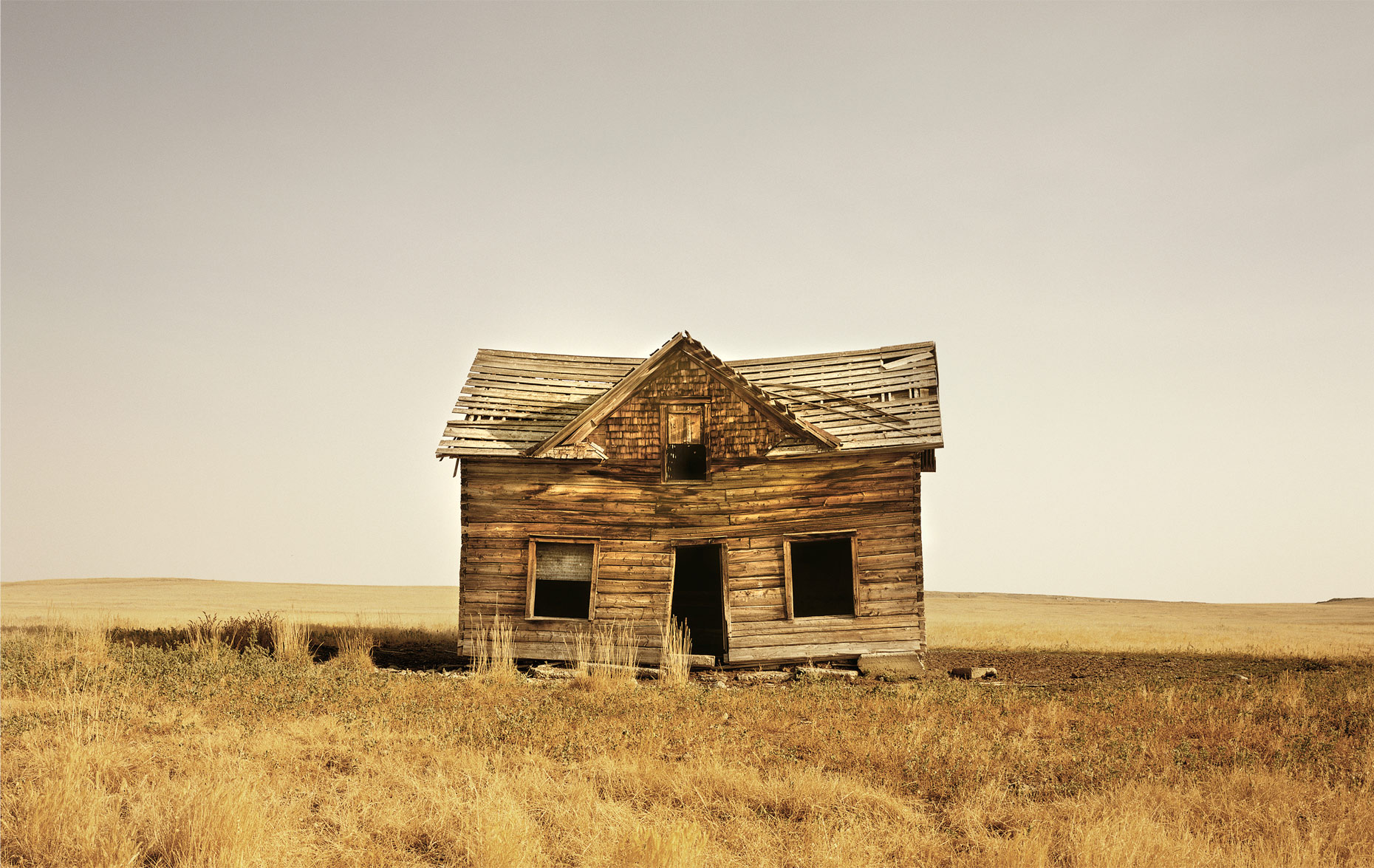 Abandoned House in Melville, Montana