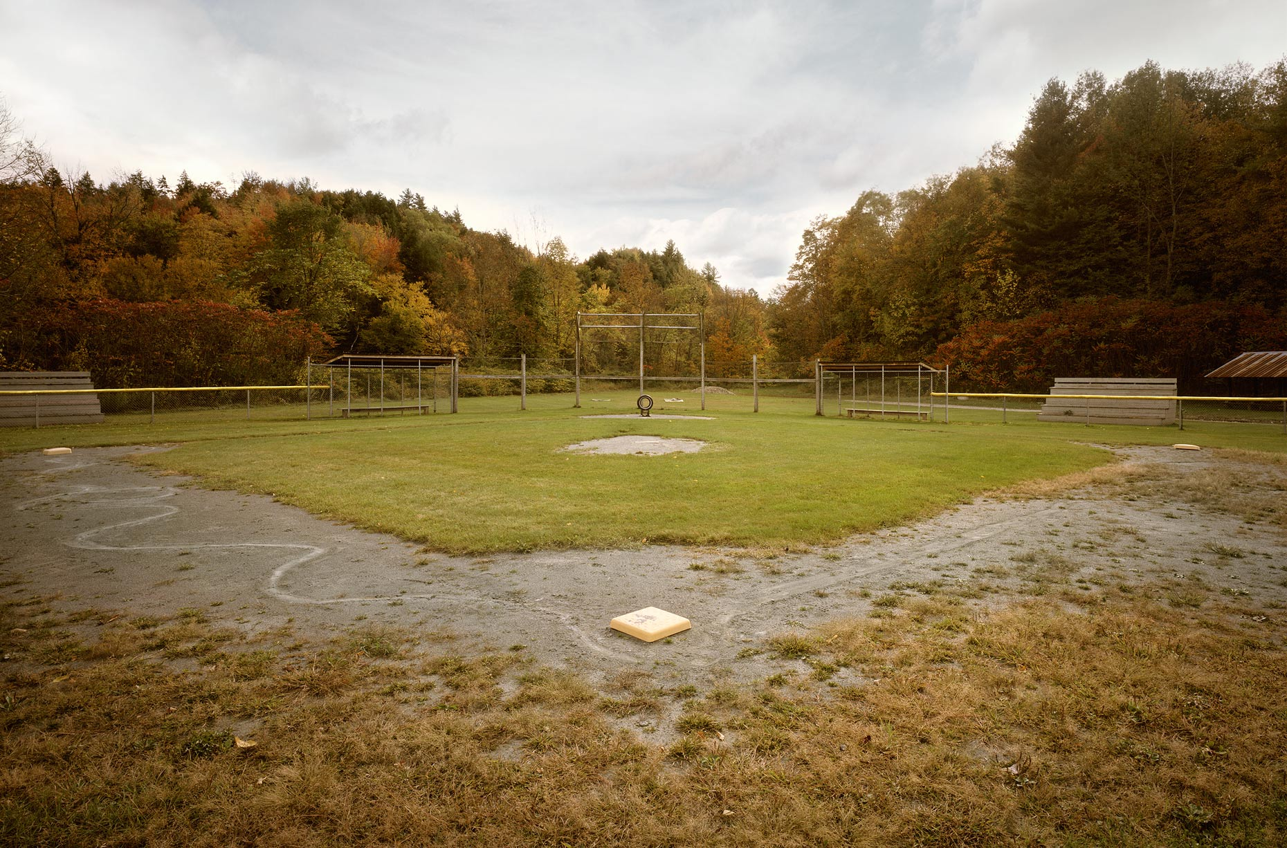 Baseball Diamond in Vermont